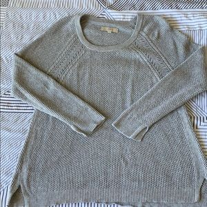 EUC grey Loft sweater
